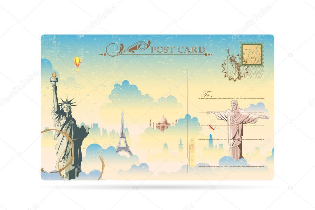 Парня, открытка путешествие на английском