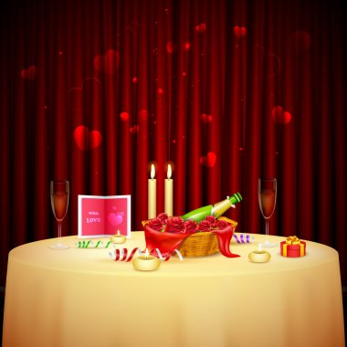 Candlelight Dinner for Valentine's Day