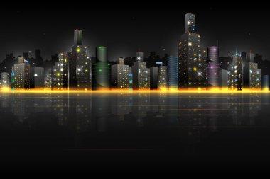 Night Scene of City