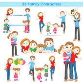 Fotografie Familie 3D-Sammlung
