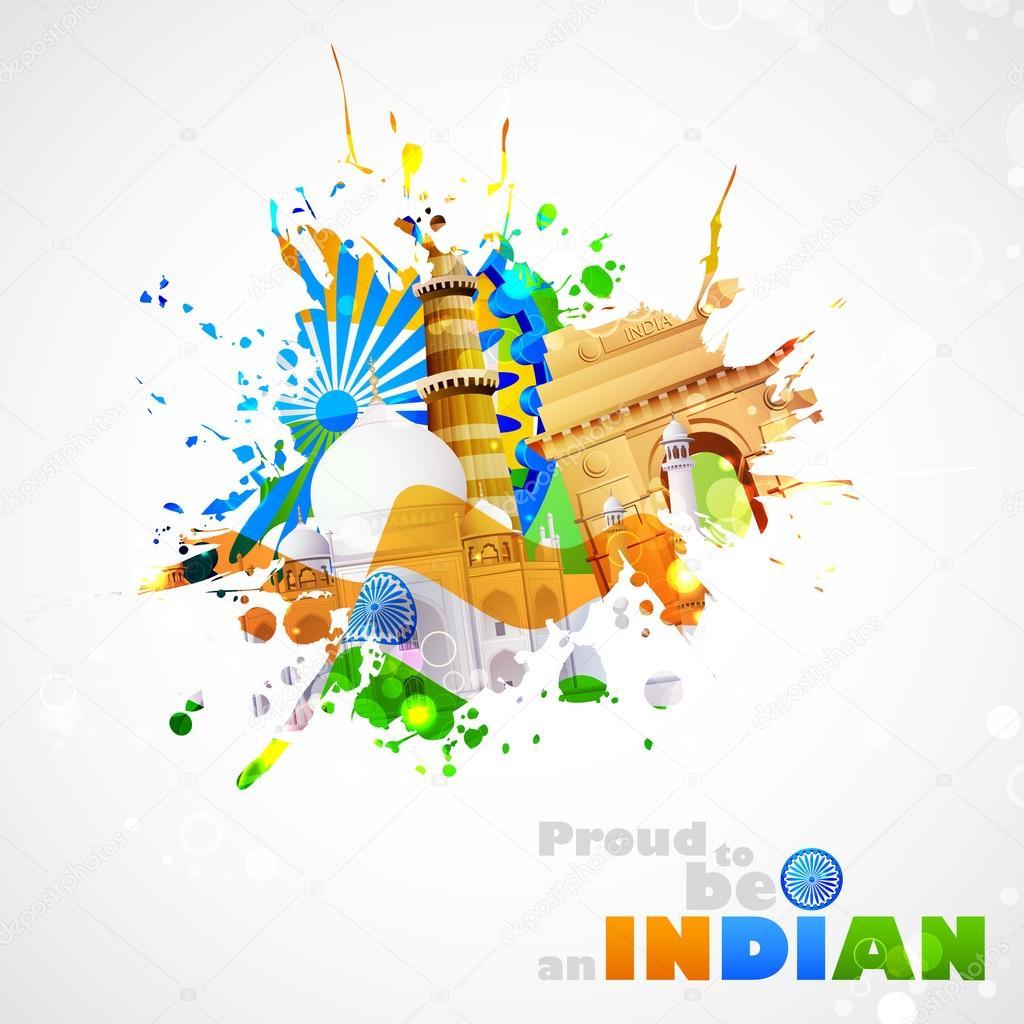 Indien-Hintergrund — Stockvektor © vectomart #29519779