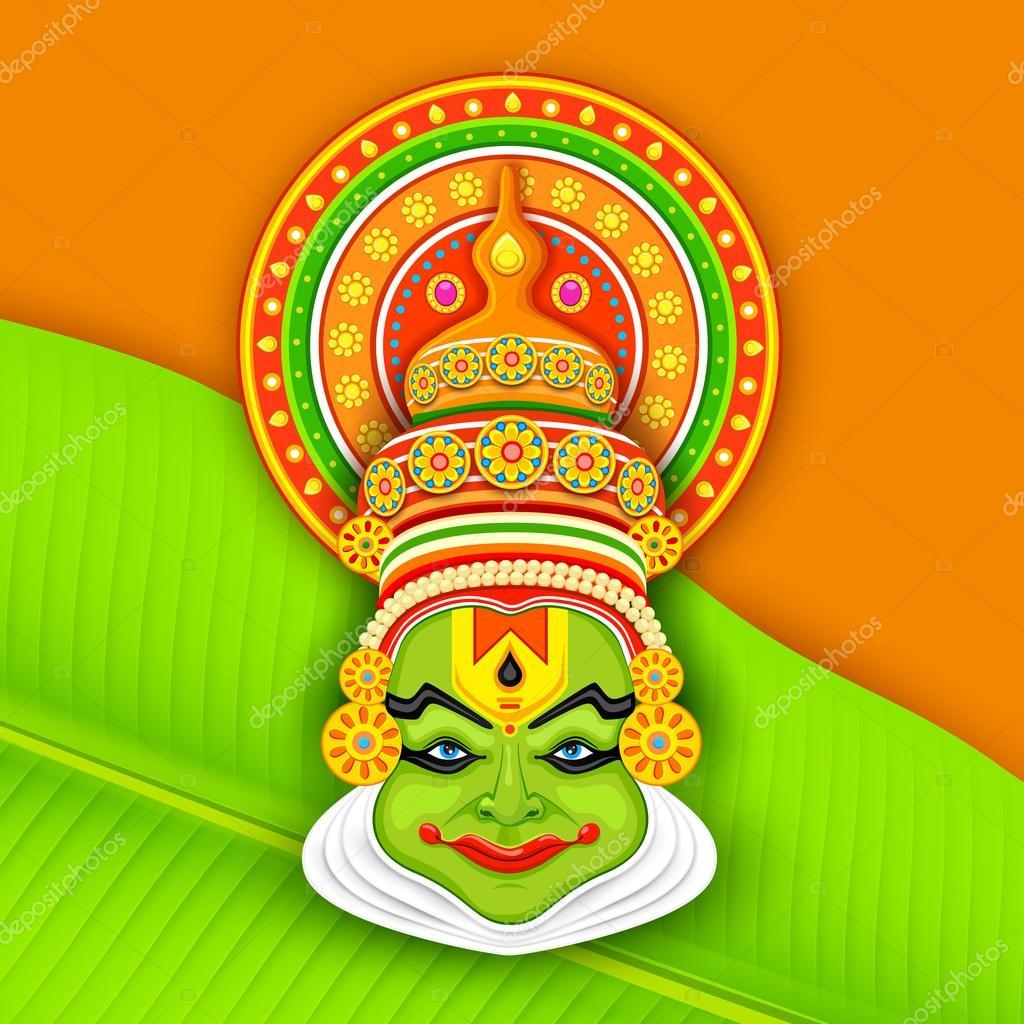 ᐈ Kathakali Face Drawing Stock Illustrations Royalty Free Kathakali Vectors Download On Depositphotos