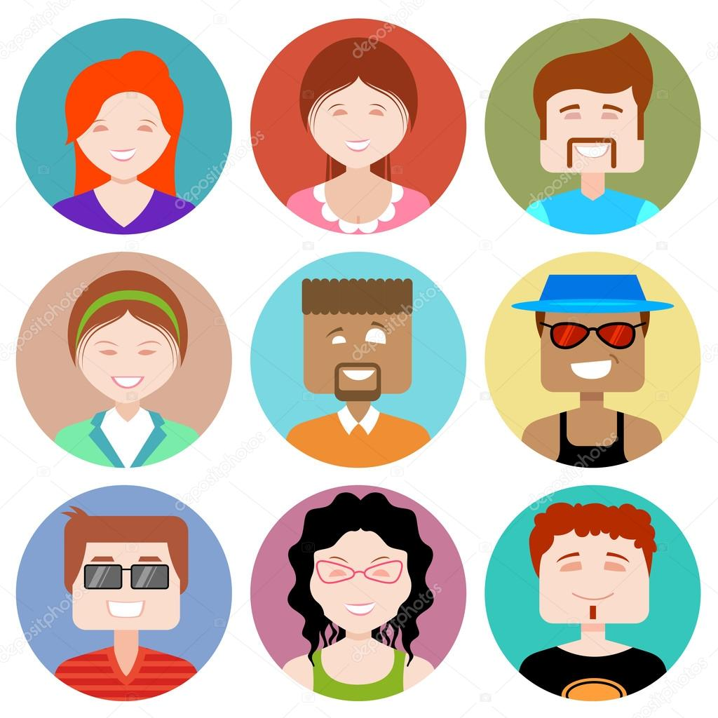 Flat Design People Icon
