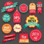 Fotografia Tag vendita e sconto