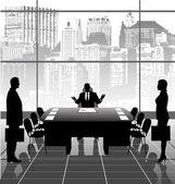 üzleti találkozó
