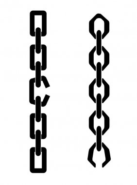 Chain with the broken link