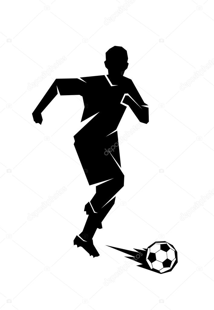 Футболист картинка рисунок