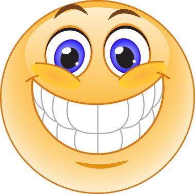 Big smile emoticon