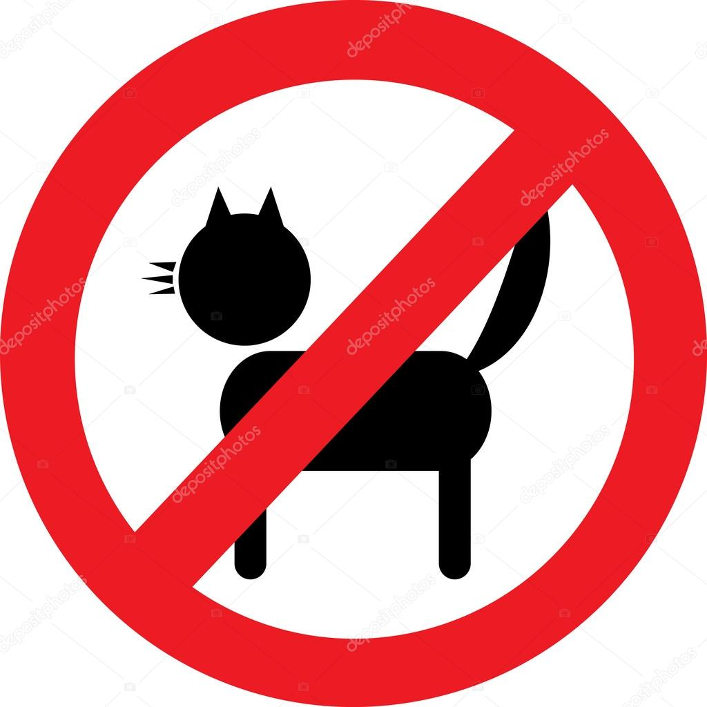 no cats sign stock vector  u00a9 natalipopova 44810879 ghosts clip art free ghost clip art svg