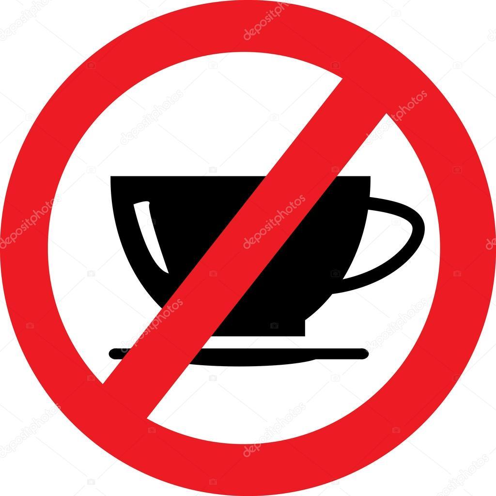 no coffee sign stock vector  u00a9 natalipopova 46940633 tea clip art black and white team clip art