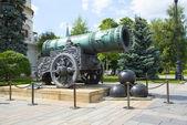 carské dělo v Kremlu