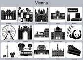 Vídeň ikony