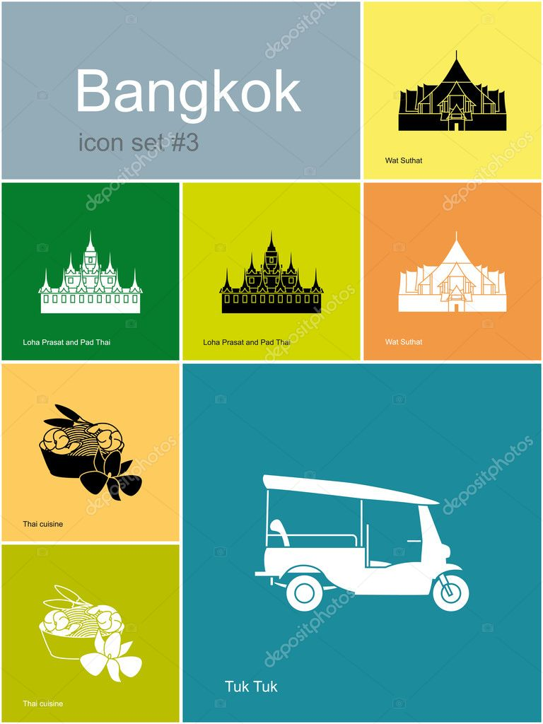 Icons of Bangkok