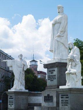Princess Olga monument in Kiev