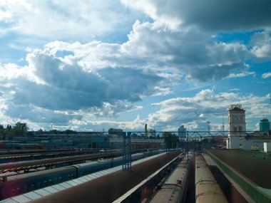 railway station in Kiev