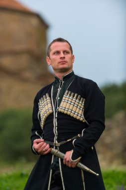 Man in Georgian national dress.