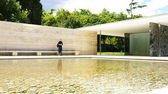 Fotografia Mies Van der Rohe pavilium