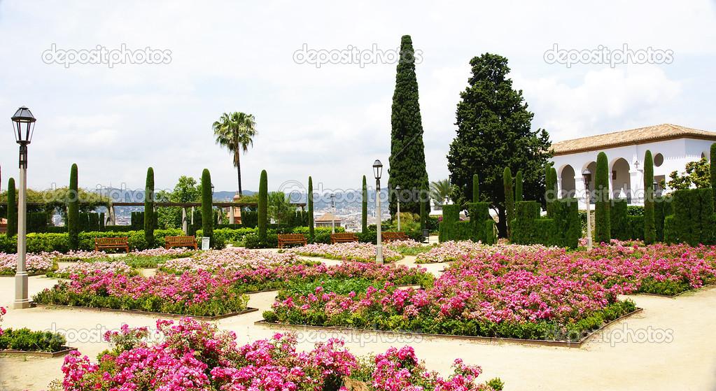 Teatre grec jardines en la monta a de montjuic foto de stock sanguer 30577733 - Jardines de montjuic ...