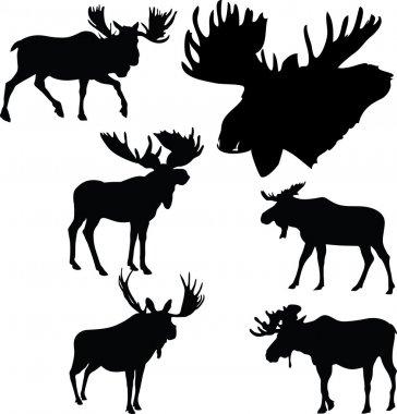 moose silhouettes