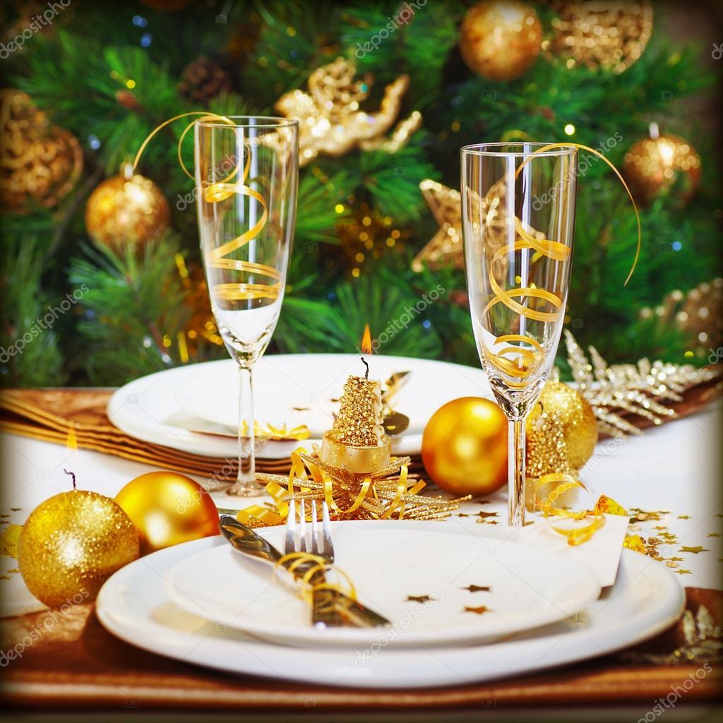 Christmas Dinner In Restaurant Stock Photo 169 Anna Om