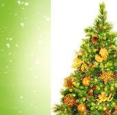 krásný vánoční strom