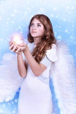 Christmas wish of an angel