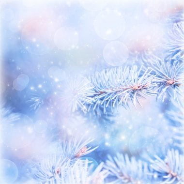 Wintertime background