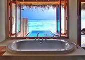 Fotografie Luxury interior on beach resort
