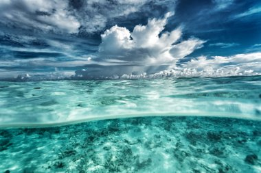 """Картина, постер, плакат, фотообои """"удивительный морской пейзаж """", артикул 49036513"""