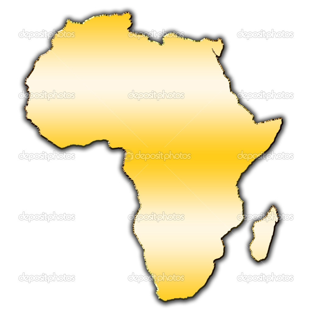 Map Of Africa Outline.Outline Africa Africa Outline Map Stock Photo C Marek Usz 14074065