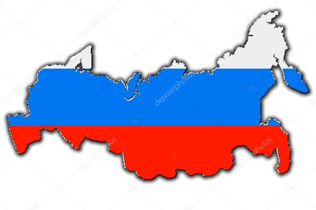 время, картинка карты россии для распечатки мастер-классе