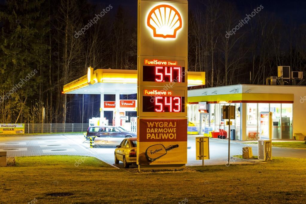 Shall Gas Station in Zakopane
