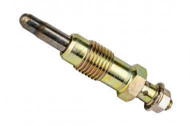 Glow plug shown on a white background
