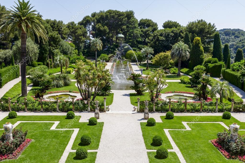 Gardens of Villa Ephrussi de Rothschild – Stock Editorial ...