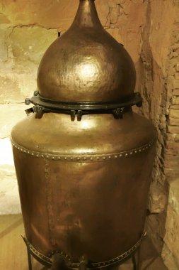 old copper still