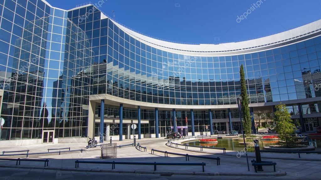 madrid espa a 15 de oct moderno edificio con