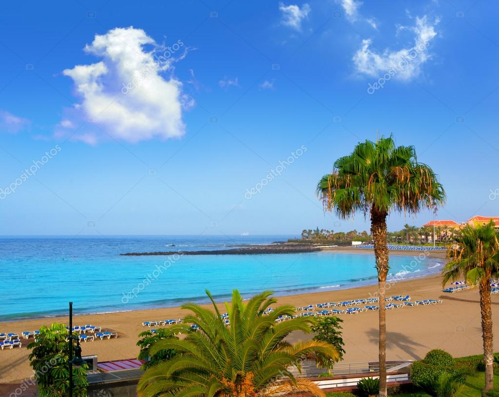 Las vistas beach Arona in costa Adeje Tenerife