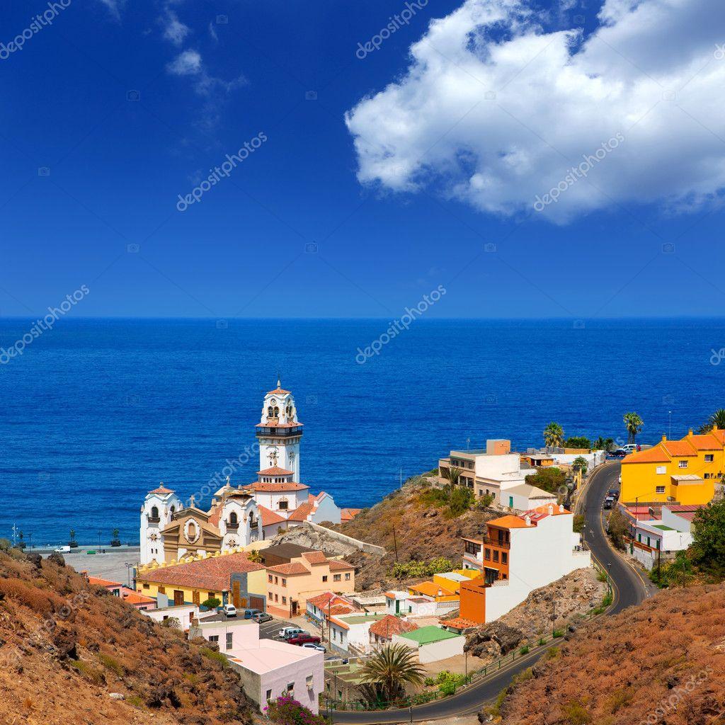 Baños Tenerife | Basilica De Candelaria Em Tenerife Ilhas Canarias Stock Photo