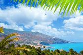 Santa Cruz de La Palma in Atlantic Canary islands
