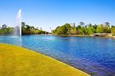 Houston mc řídí jezero s pramenitou vodou