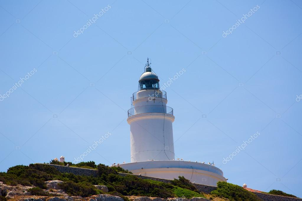 Ibiza Sa Conillera Conejera island lighthouse