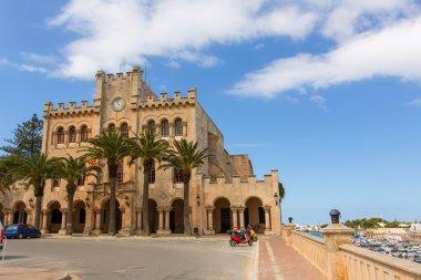 Ciutadella Menorca city Town Hall Ciudadela