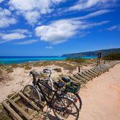 Es calo Escalo de san Agustin Beach in Formentera