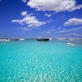 Fotografia Formentera barche al lago di estany des peix