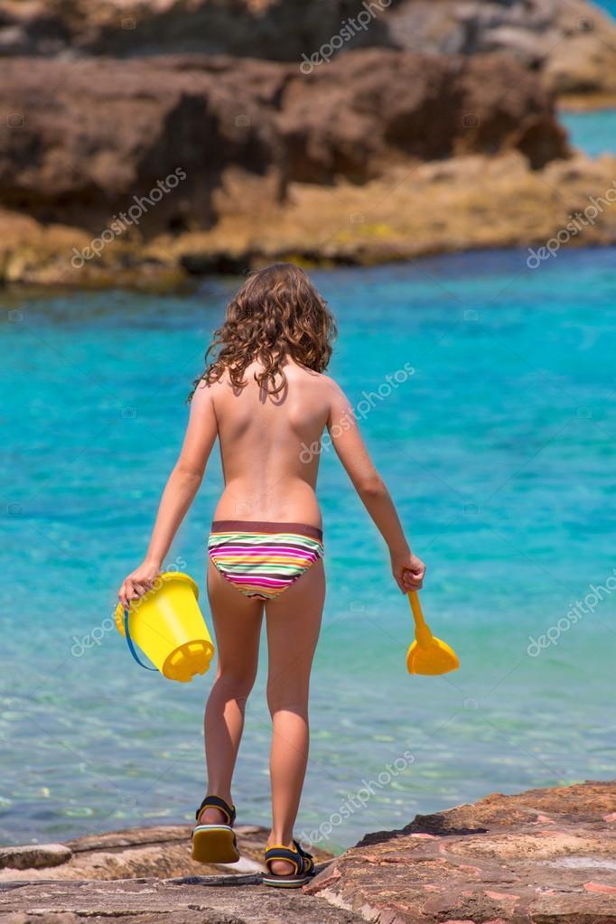 This nakna tjejer p tropiska oear