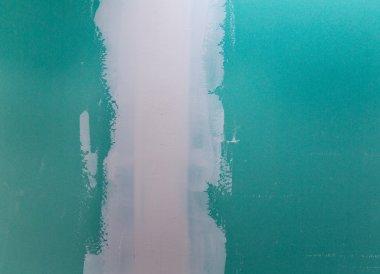 drywall hydrophobic plasterboard in green plaste seam