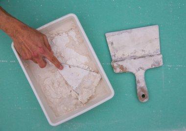 Platering tools for plaster like plaste trowel spatula