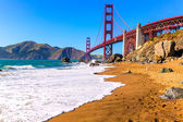 San francisco golden gate bridge marshall beach Kalifornie