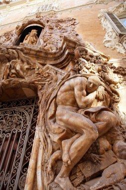 Marques de dos Aguas Palace with alabaster facade Valencia