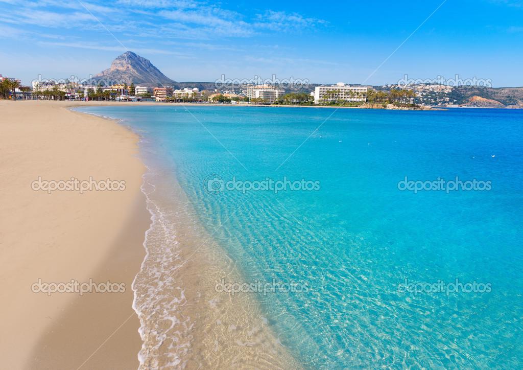 playas javea espana